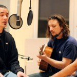 Atmosphere performs acoustic set.