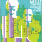 ML Hooks It Up: Gnarls Barkley Santo Gold Poster.