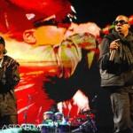 Jay-Z at Glastonbury 2008.