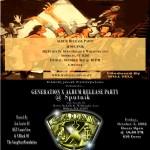 Sadat X – Generation X Album Release Party (10/3/08) @ Sputnik, NYC.