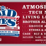 Paid Dues 2009 Lineup Announced.