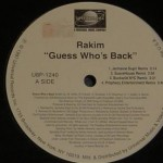 Remix Tuesdays: Rakim.