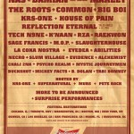 Rock The Bells 2009 Lineup.