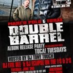 Marco Polo & Torae – Double Barrel Album Release Party (6/2/09) @ Sutra, NYC.