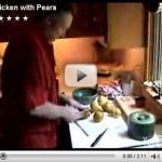 Cooking With Christopher Walken.