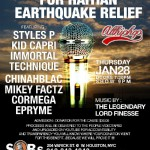 1.28.10 Styles P / Immortal Technique / Lord Finesse – Haiti Benefit Show @ SOBs. [Cancelled]