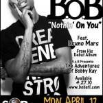 B.o.B. tonight at SOB's, New York City.
