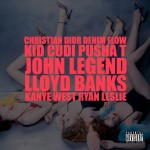 Kanye West – Christian Dior Denim Flow (ft. Kid Cudi, Pusha T, John Legend, Lloyd Banks, Ryan Leslie).