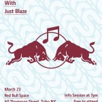 Live Just Blaze Q&A Tomorrow (3/23/11) @ Red Bull Space, NYC.