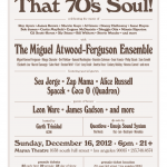 Art Don't Sleep presents That 70′s Soul! (12/16) @ Mayan Theatre, LA.