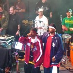 Ghostface, Rakim &amp; Brother Ali backed by live band on tour.