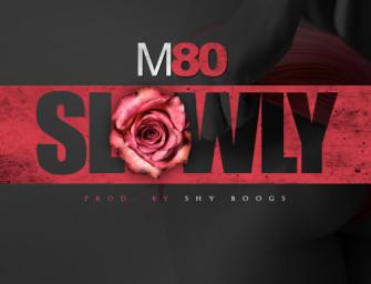 M80 – Slowly.