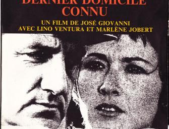 Ancient Lungies: François De Roubaix – Dernier Domicile Connu (1970).