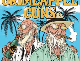 Crimeapple & Cuns – Velvet Turtleneck.